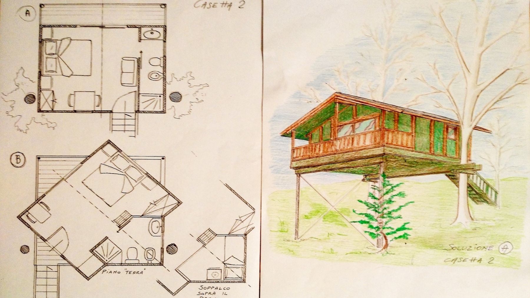casa piccola proposta 1 e 2